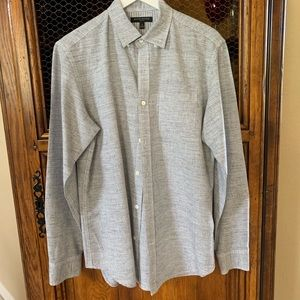 Banana Republic Men's Slim Fit Linen Shirt
